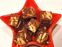 Chocolate Toasted Almond Fudge