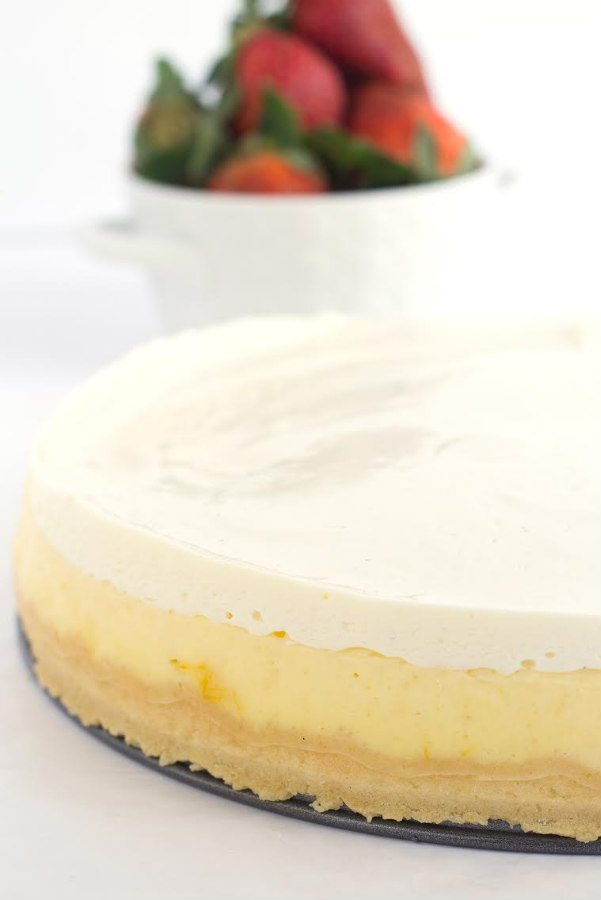 Easy Classic Cheesecake recipe - from RecipeGirl.com