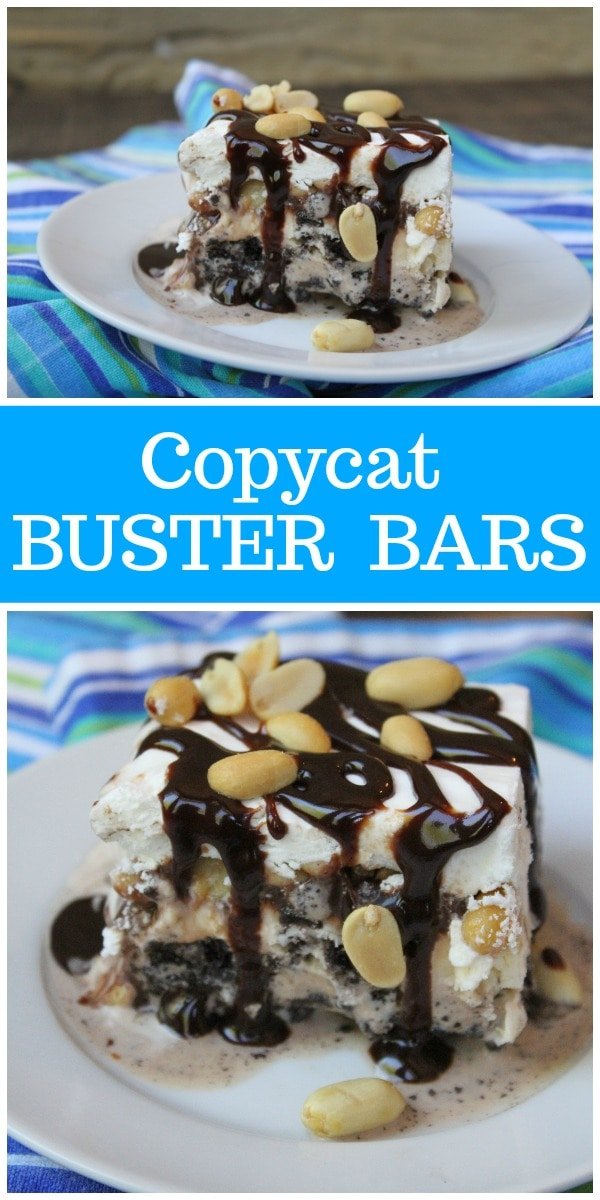pinterest collage image for buster bars