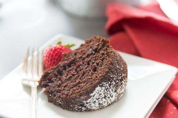 Easy Chocolate Cake recipe - from RecipeGirl.com