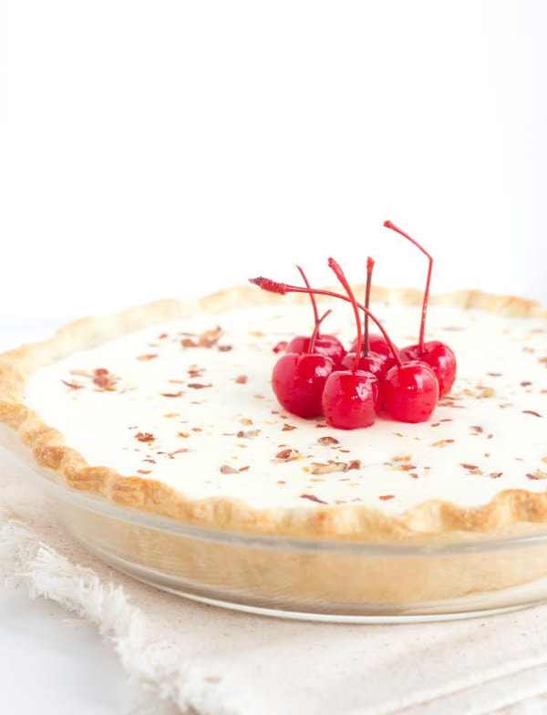 Eggnog Pie Recipe - RecipeGirl.com