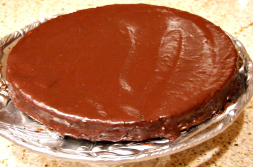 European chocolate cake