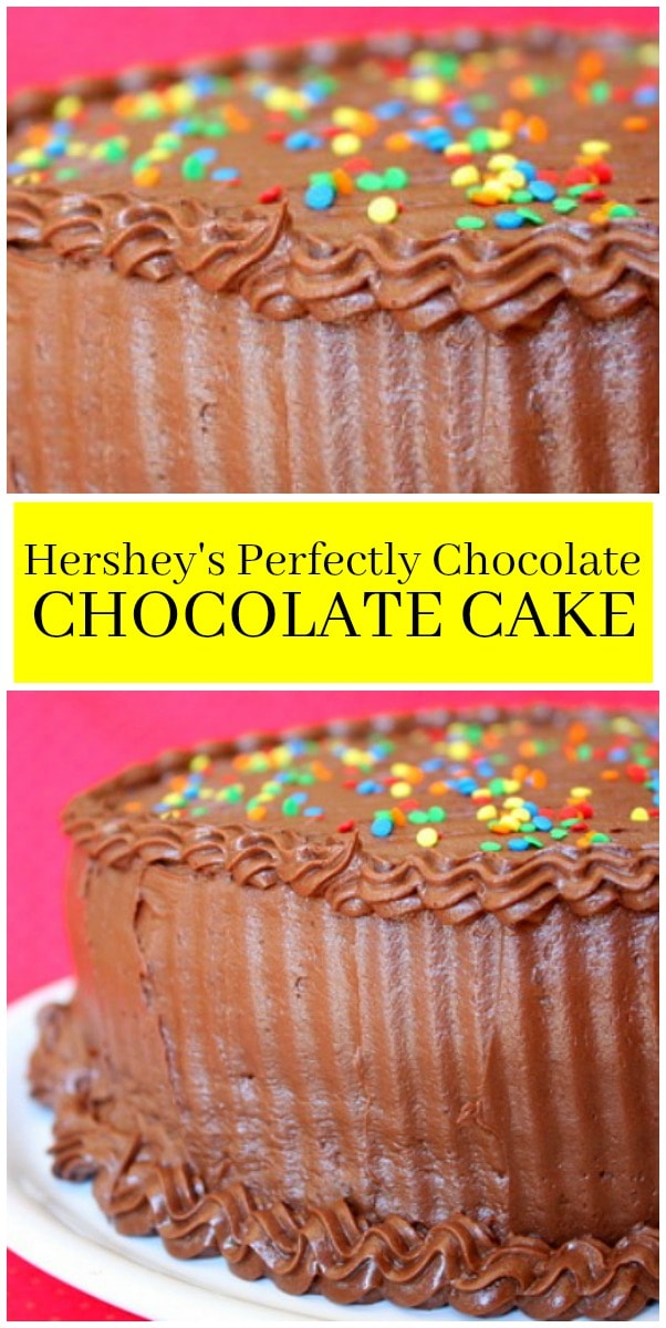Hershey's Perfectly Chocolate Chocolate Cake