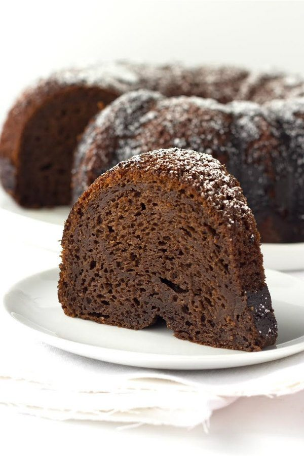Easy Kahlua Cake recipe - from RecipeGirl.com