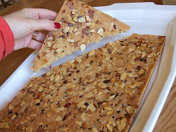 Breaking apart cookie brittle