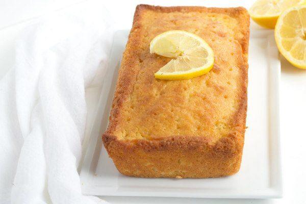 Easy recipe for Lemon Tea Cake - recipe from RecipeGirl.com