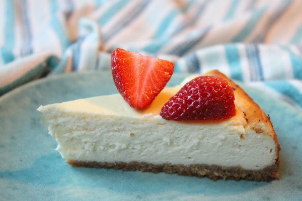 Low Fat Cheesecake recipe by RecipeGirl.com