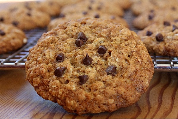 Low Fat Oatmeal Chocolate Chip Cookies - Recipe Girl