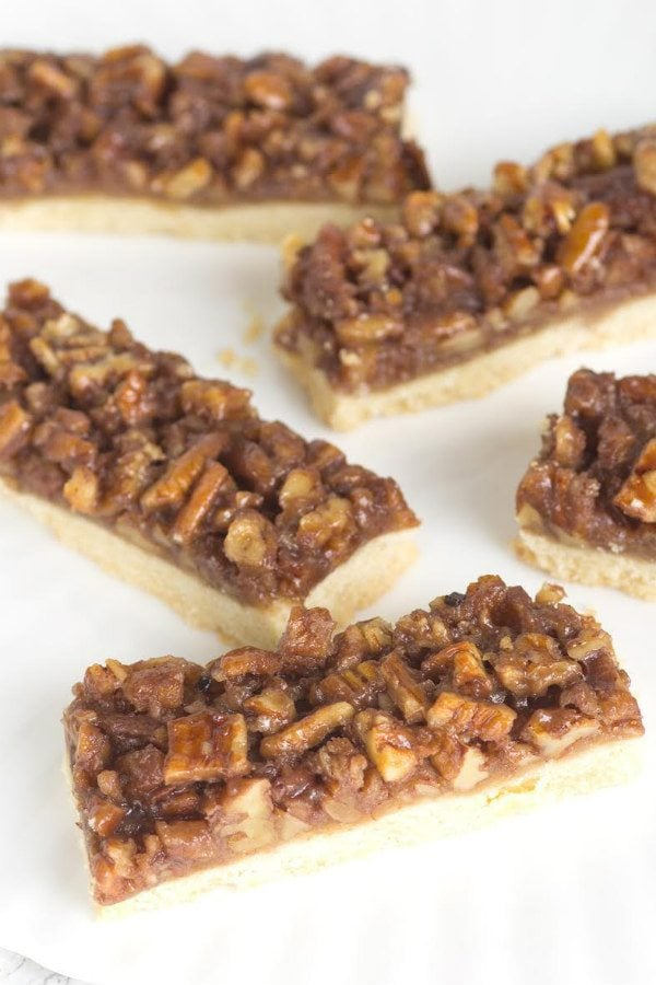 Maple Pecan Bars Recipe - from RecipeGirl.com