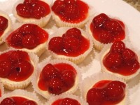 Mini Cherry Cheesecake Bites