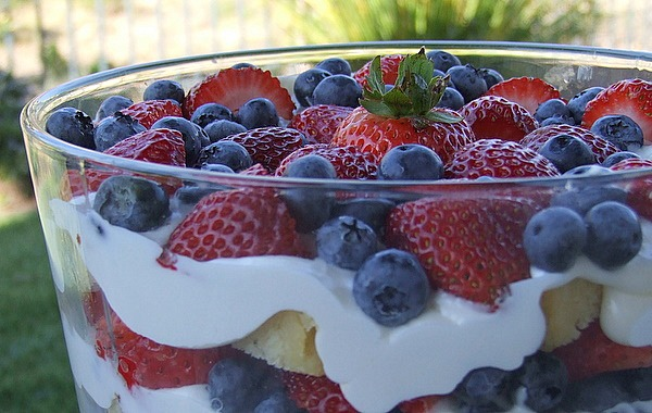 Layered Berry Trifle