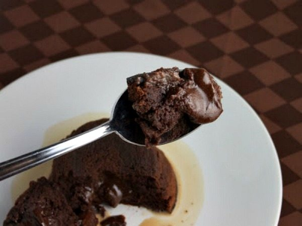 Molten Choc Cakes w Irish Cream