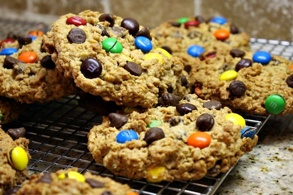 The Best Monster Cookies recipe - from RecipeGirl.com