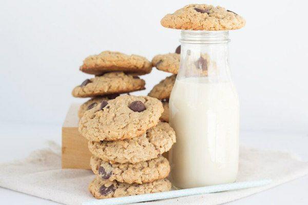 Peanut Butter Oatmeal Chocolate Chunk Cookies
