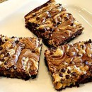 Peanut Butter Swirl Brownies Pic