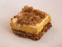 Pumpkin Cheesecake Crumbles