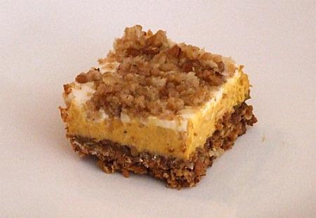 ... squares pumpkin cheesecake crumble pumpkin cheesecake crumble