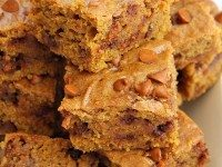 Pumpkin Cinnamon Chip Bars