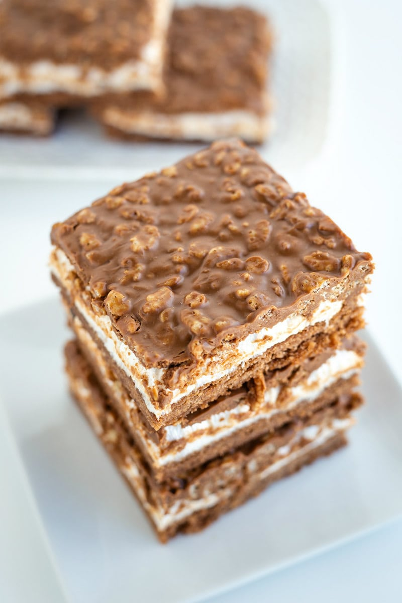 stack of Royal Chocolate Marshmallow Bars
