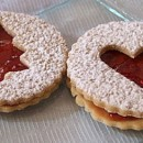 Strawberry Sandwich Cookies
