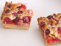To Die For Cranberry Coconut Squares