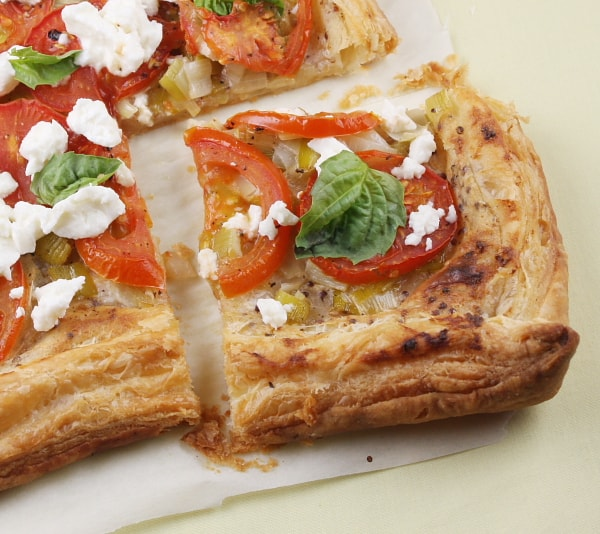 How to Make a Tomato Tart