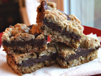 fudge nut layer bars