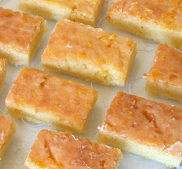 Orange Brownies