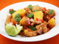 Acorn Squash and Chicken Chili