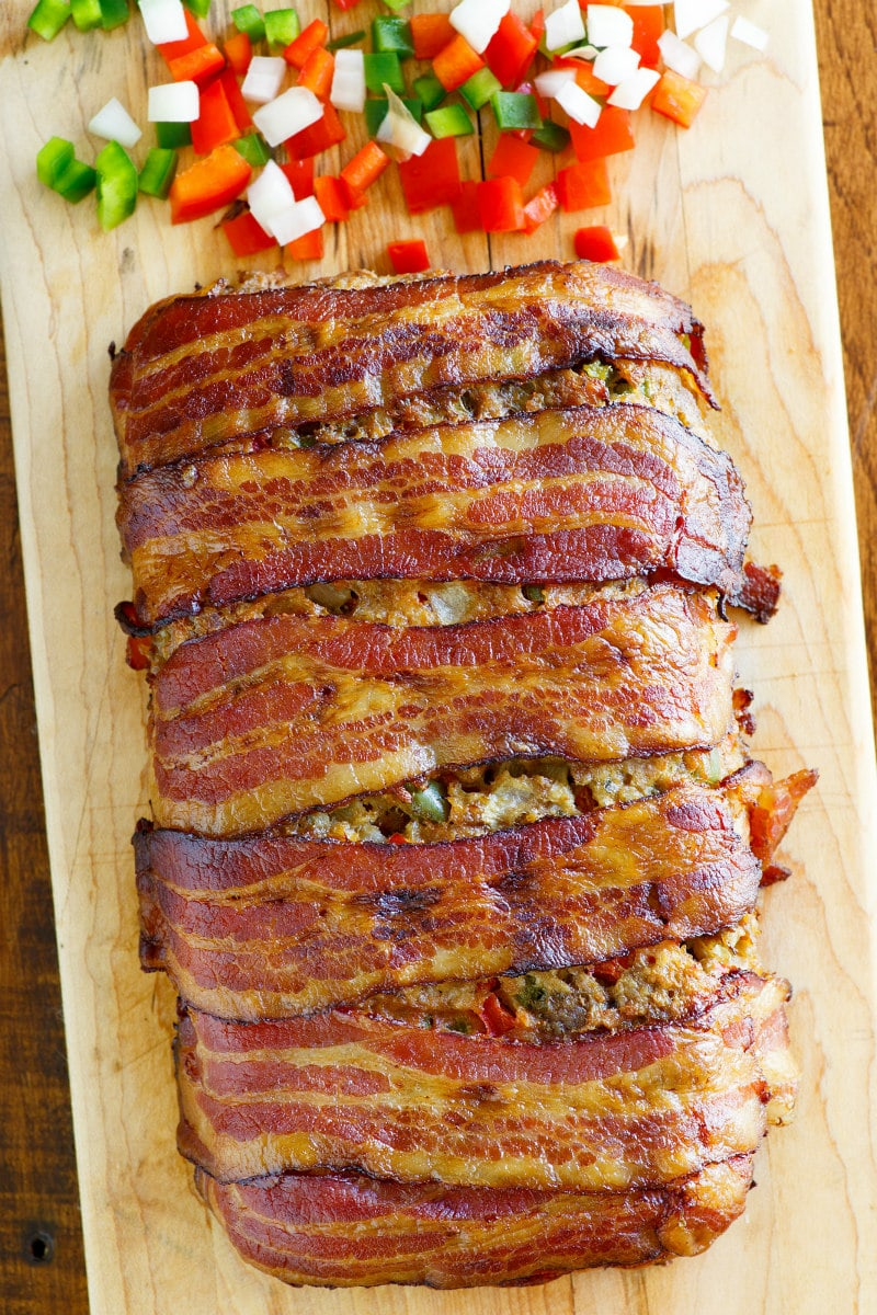 Best meatloaf recipe ever with bacon