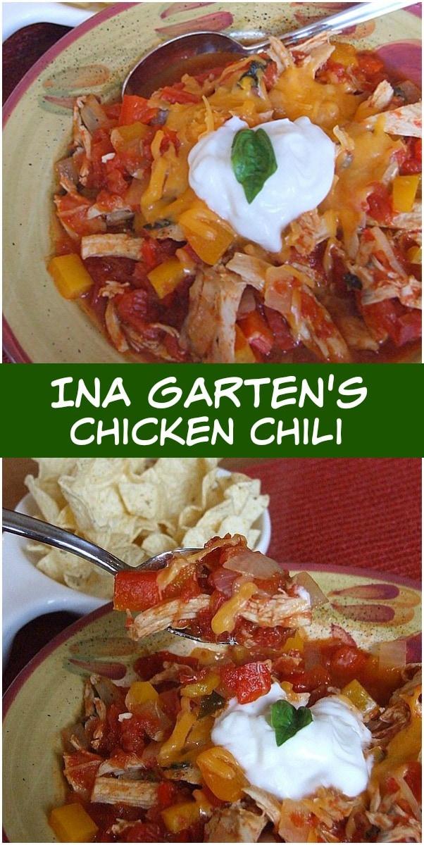 Ina Garten's Chicken Chili