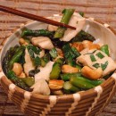 Chicken Stir Fry with Asparagus and Cashews