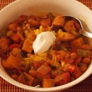 Chicken and Butternut Squash Chili