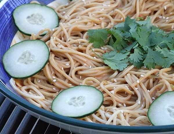 Bowl of Cold Sesame Noodles
