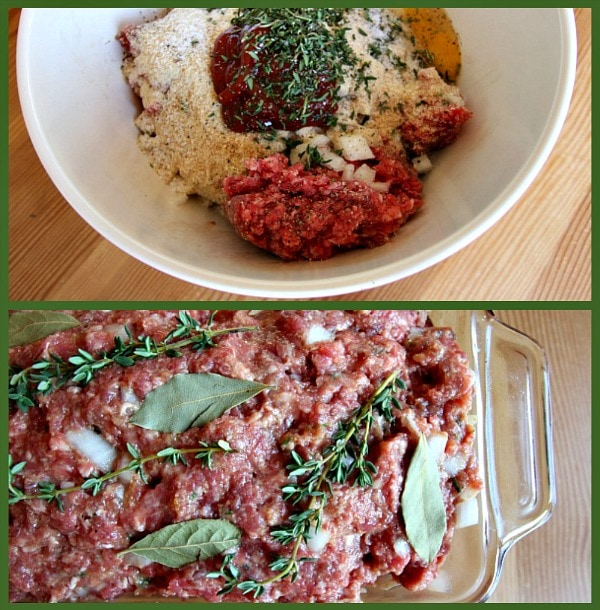 Cape Cod Cranberry Meatloaf