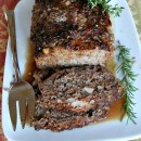 Cranberry Meatloaf - RecipeGirl.com