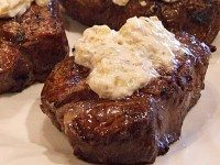 Grilled Steak with Blue Cheese and Chiles