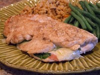 Gruyere Arugula and Prosciutto Stuffed Chicken Breasts