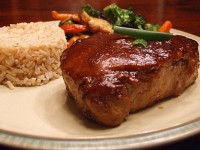 Hoisin and Honey Glazed Pork Chops