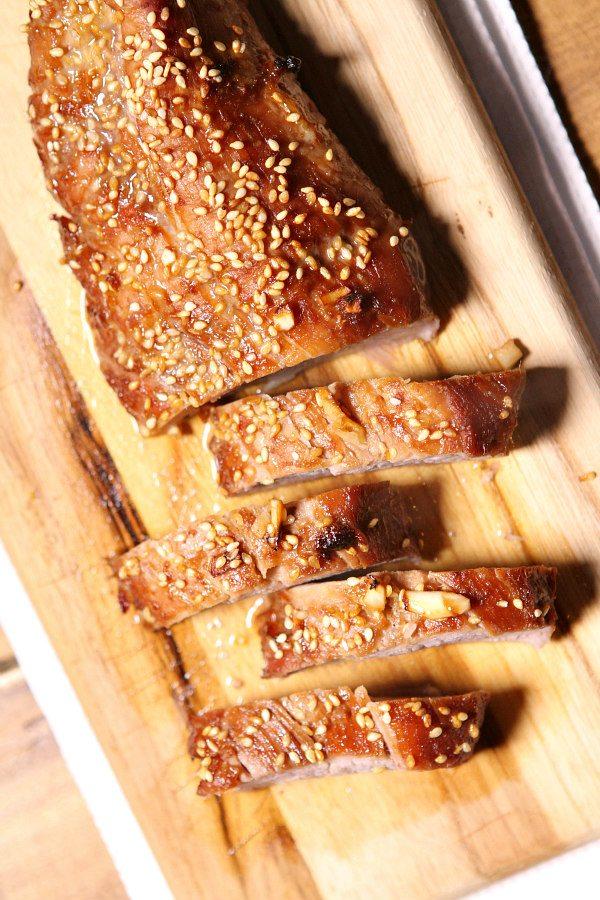 Honey Sesame Pork Tenderloin Recipe