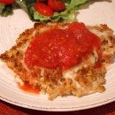 Light Chicken Parmesan #recipe