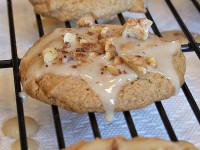 Maple Walnut Spice Cookies