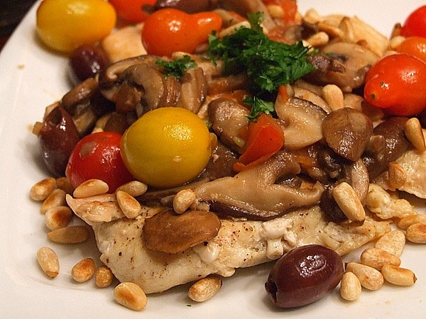 Mediterranean Chicken Recipe — Dishmaps