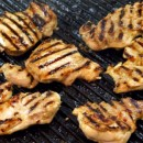 Orange Ginger Grilled Chicken Thighs