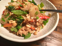 Peanut Chicken Bowl Recipe