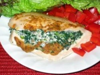 Spinach and Cheese Stuffed Chicken Pic