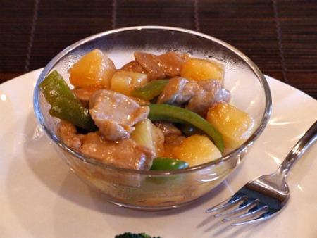 Sweet and Sour Pork recipe from RecipeGirl.com
