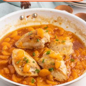 asian orange chicken pinterest image