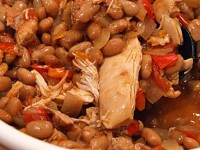 slow cooker tex mex chicken and beans
