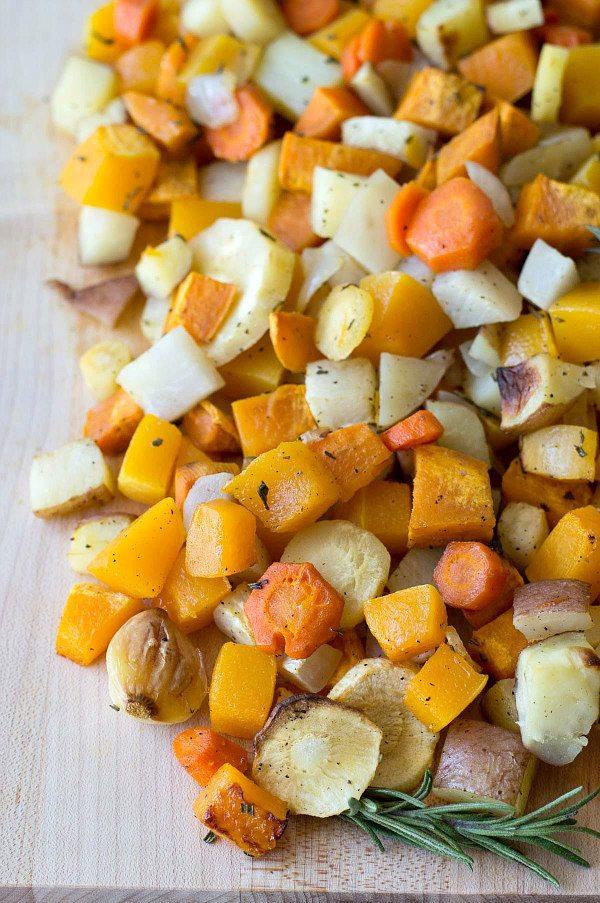 Roasted Autumn Vegetables recipe